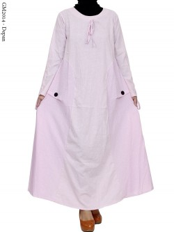 GM2014 Gamis umbrella katun Motif
