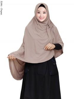JL861 Jilbab Twist Kerut Pita
