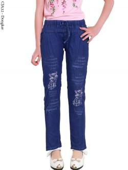CJA32 Celana Jeans Anak Bordir
