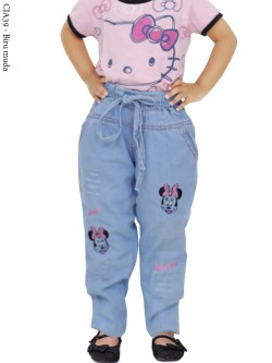 CJA39 (18-22) Celana Jeans Anak Bordir
