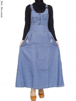 JS09 Overall Maxi Jeans Remaja