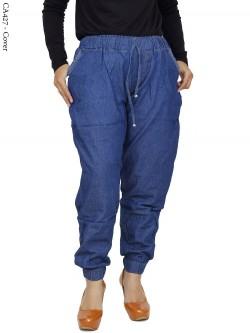 CA427 Celana Jogger Jeans Jumbo