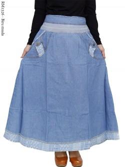 RM1326 Rok Jeans Remaja/Dewasa List Songket