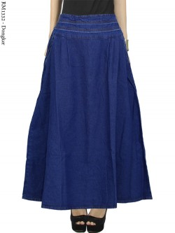 RM1332 Rok Jeans Payung Polos