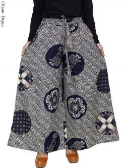 CK399 Celana Kulot Jumbo Katun Batik