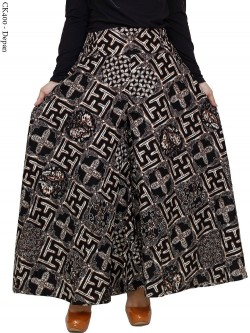 CK400 Celana Kulot Jumbo Katun Batik
