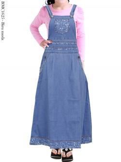BMC1625 Overall Jeans Anak Tanggung
