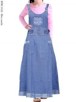 BMC1622 Overall Jeans Anak Tanggung