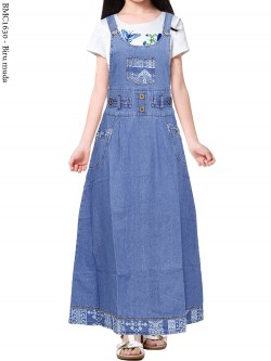 BMC1630 Overall Jeans Anak 5-10th
