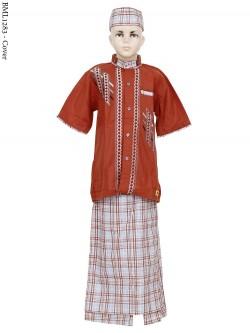 BML1283 (7-12) Baju Koko Anak Celana Sarung