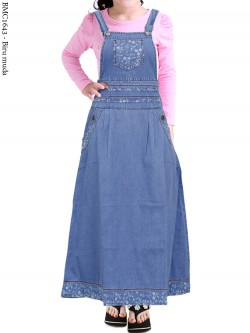 BMC1643 Overall Jeans Anak 5-10th
