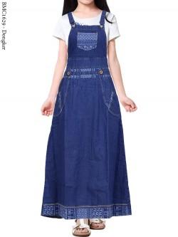 BMC1629 Overall Jeans Anak Tanggung