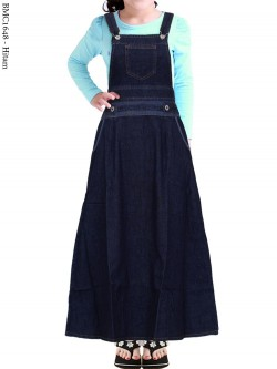 BMC1648 Overall Jeans Anak Tanggung
