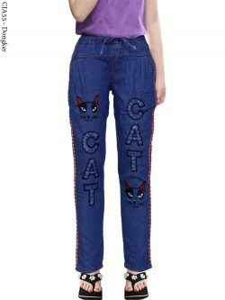 CJA55 Celana Jeans Anak Bordir