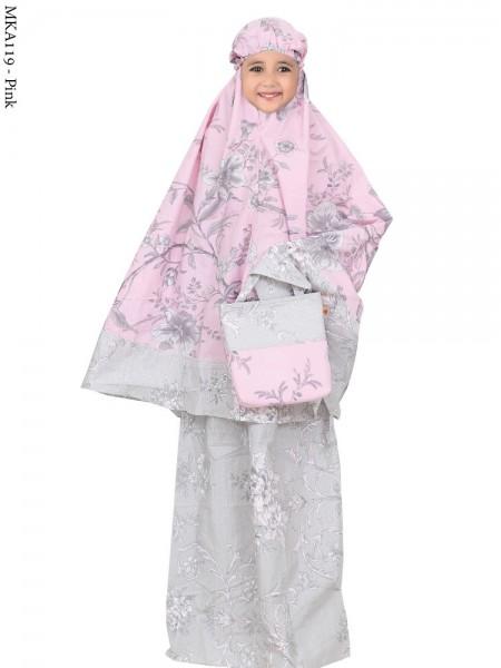 MKA119 Mukena Anak Katun Jepang Batik