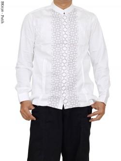 BK636 Baju Koko Bordir Albatar Panjang