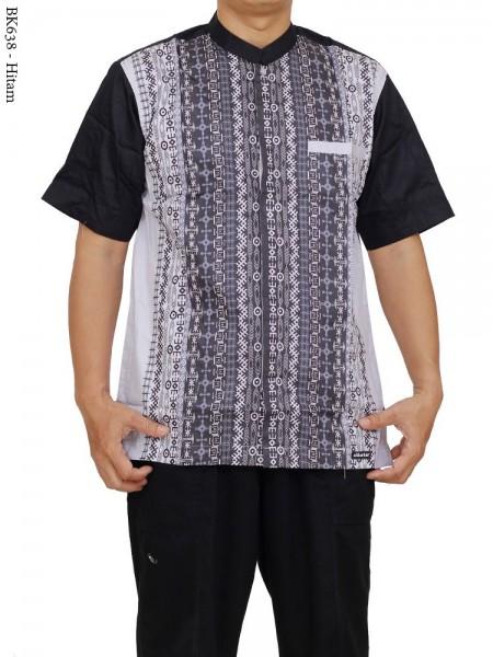 BK638 Baju Koko Albatar Katun Batik