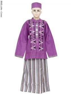 BML1289 (7-12) Baju Koko Anak Celana Sarung