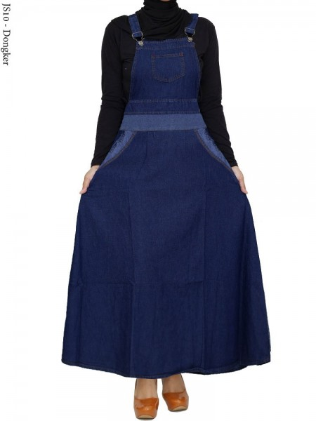 JS10 Overall Maxi Jeans Remaja