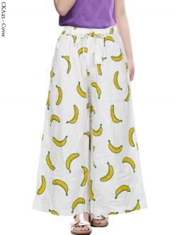 CKA45 Kulot Anak Katun Linen Banana