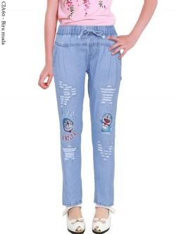 CJA60 Celana Anak Bordir Doraemon