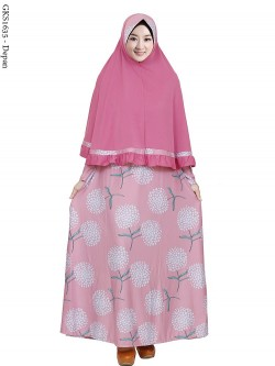 GKS1635 Gamis Syar'i Misby