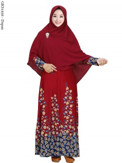 GKS1636 Gamis Syar'i Misby
