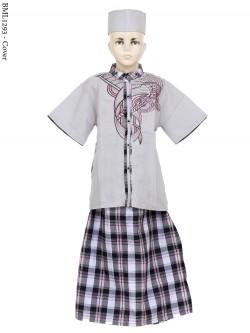 BML1293 (7-12) Baju Koko Anak Celana Sarung