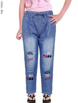 CJA63 Celana Anak Bordir Peter