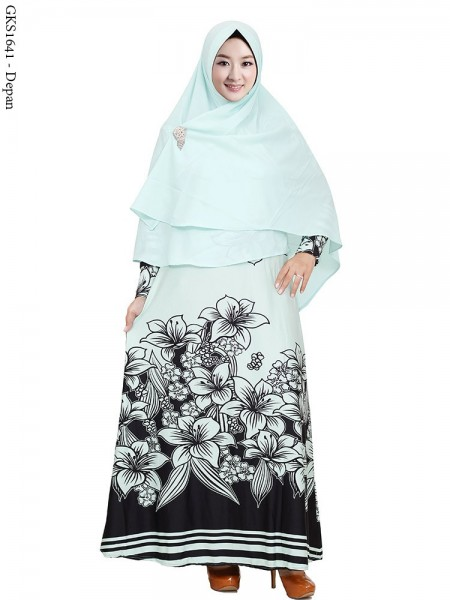 GKS1641 Gamis Syar'i Pet Misby
