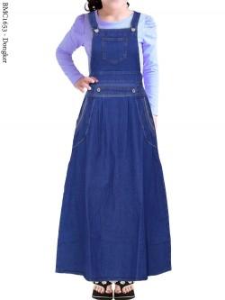 BMC1653 Overall Jeans Anak Tanggung