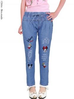 CJA64 Celana Anak Bordir Disney