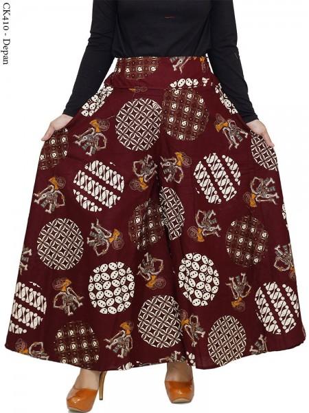 CK410 Celana Kulot Jumbo Katun Batik