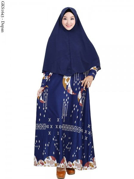 GKS1643 Gamis Syar'i Pet Misby