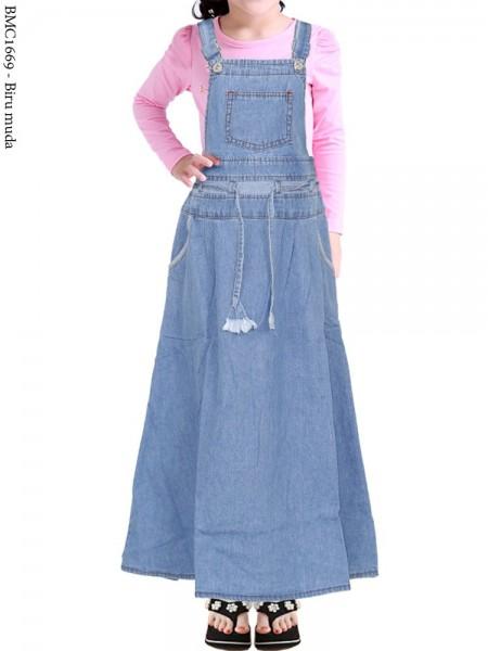 BMC1669(16-20) Overall Jeans Anak