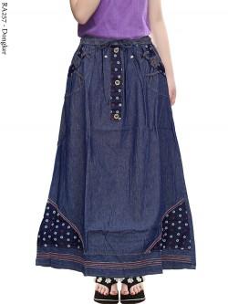 RA257 Rok Jeans Anak Tanggung 6-11th