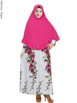 GKS1644 Gamis Syar'i Pet Misby