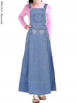 BMC1678(16-20) Overall Jeans Anak