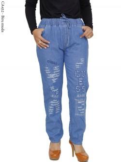 CA432 Celana Jeans Remaja/ABG Dewasa Bordir