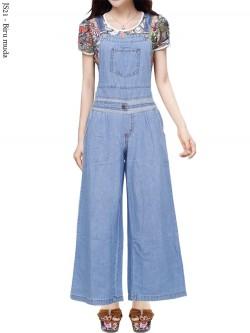 JS21 Overall Kulot Jeans Remaja
