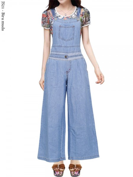 JS21 Overall Kulot Jeans