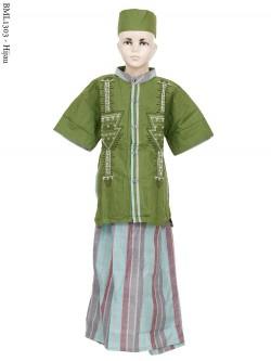 BML1303 (7-12) Baju Koko Anak Celana Sarung