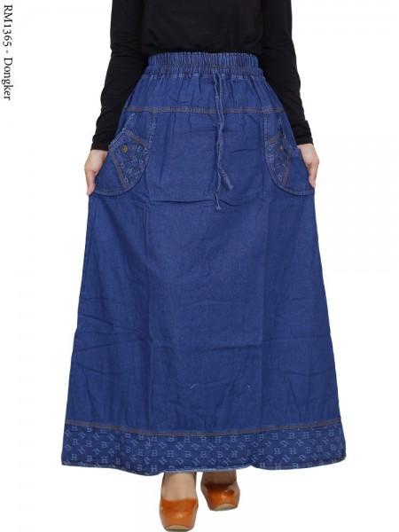 RM1365 Rok Jeans Remaja/Dewasa List Motif