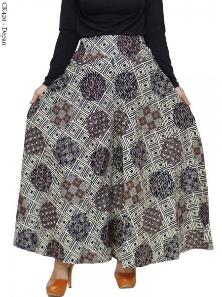 CK420 Celana Kulot Jumbo Katun Batik