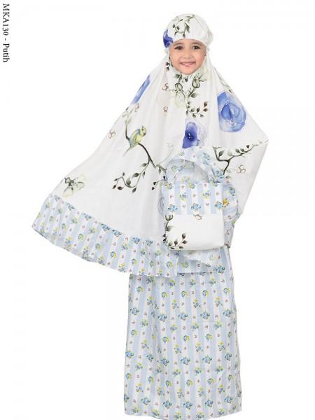 MKA130 Mukena Anak Katun Jepang