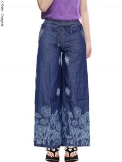 CKA86 Celana Kulot Jeans Anak Sablon