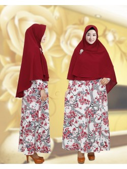 GKS1649 Gamis Syar'i Pet Misby
