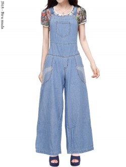 JS18 Overall Kulot Jeans