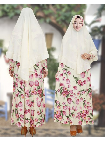 GKS1650 Gamis Syar'i Pet Misby