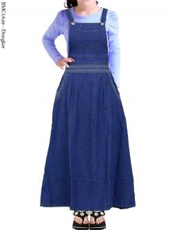 BMC1649 Overall Jeans Anak Tanggung